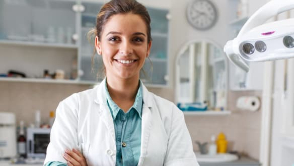Full-time dentists work fewer hours each week than average.