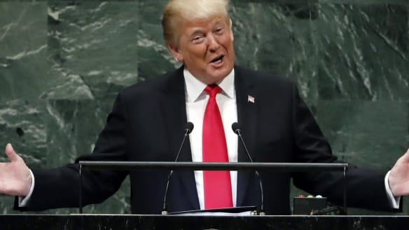 'I didn't expect that reaction': Trump's boasting provokes laughter at UN