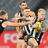 AFL 2020 as it happened: Essendon trounce the Pies with pressure, good kicking