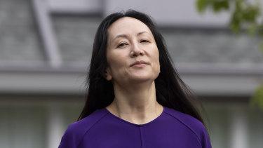 Meng Wanzhou, the chief financial officer of Huawei.