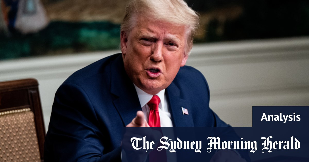 A Trump concession is becoming less relevant – Sydney Morning Herald
