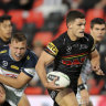 Cleary fires Panthers to top of NRL at halfway point of season