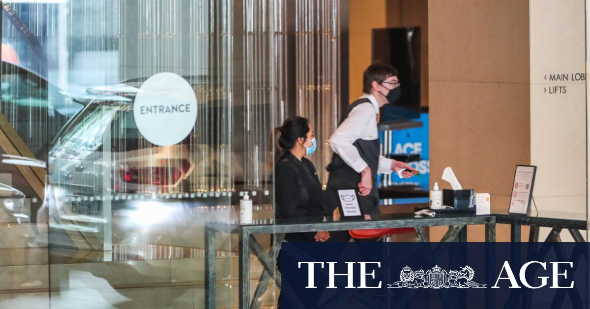 Victorian government yet to send a hotel quarantine bill with tens of millions owed – The Age