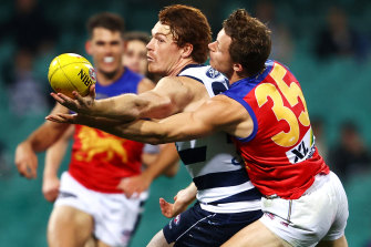 The Geelong Cats and Brisbane Lions battled at the Sydney Cricket Ground last Thursday, July 09.