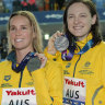 Australian women's relay team finish second at swim titles