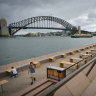 'Ghost town': Deserted Sydney set to celebrate the New Year without the crowds