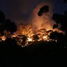 Bushfires threaten homes across Victoria