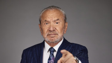 Lord Alan Sugar may be one of the most unpleasant people to grace Australian TV.