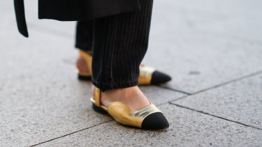 "Flat shoes are a must if you're ""doing"" the sales in person."