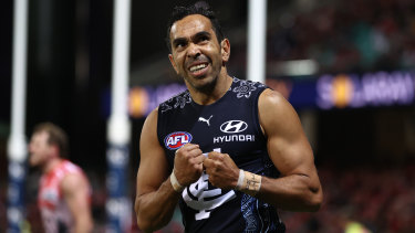 Carlton star Eddie Betts has been vocal about the racism he has encountered.
