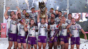 The NRL managed to run its competition at a fraction of the cost in 2020.