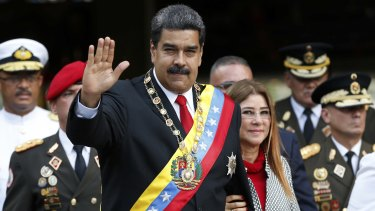 Venezuelan President Nicolas Maduro capitalised on Trump's blustering to crack down on dissent in his country.