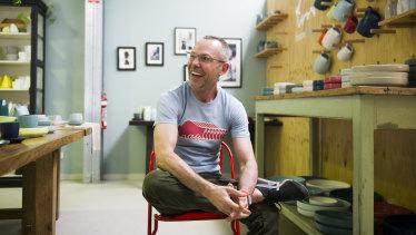 """Brian Tunks, of Bison: """"A good designer should be a storyteller."""""""