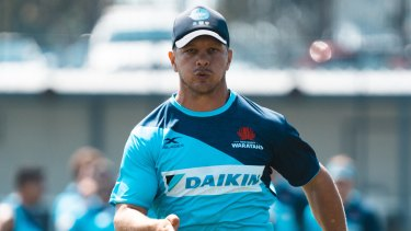 Mack Mason is on the outer at the Waratahs.