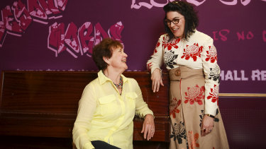 Noreen Solomon shares her wedding day story with Alana Valentine to create a new theatre production, Wayside Brides.