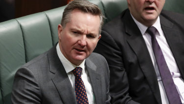 Shadow treasurer Chris Bowen has unleashed on the government's Treasury appointment.