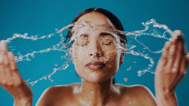 The concept of 'waterless beauty' originally started in South Korea.