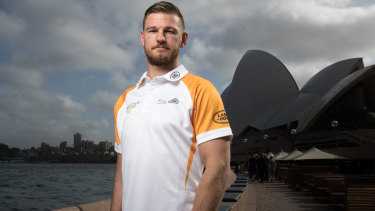 Changed: Rob Horne is helping promote the Invictus Games in Sydney.