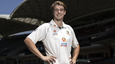 Cameron Green became male Test player No.459 for Australia.
