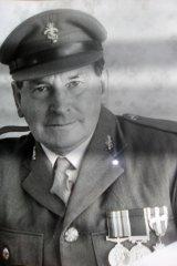 Bob Thompson in his army days.