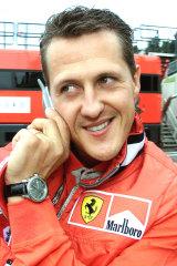 Michael Schumacher 20 years ago.