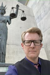 Mr Pennings posted this selfie to Facebook, from outside court on Friday morning.