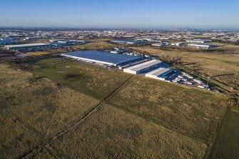 Truganina, in Melbourne's west, is one of the state's fastest growing industrial suburbs.