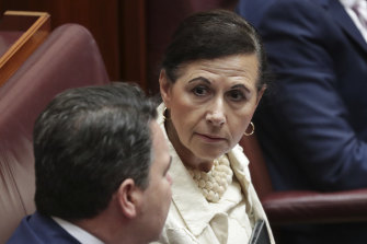 "Committee chairwoman, Liberal senator Concetta Fierravanti-Wells, said parliamentary scrutiny of executive-made laws was ""essential in critical times like these""."