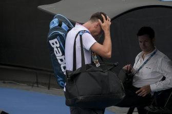 Thanasi Kokkinakis at the 2019 Australian Open.