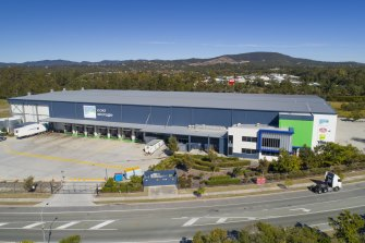 The Ormeau facility in Queensland  is one of the Centuria Industrial Fund's new acquisitions.