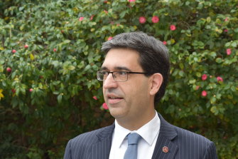 Liberal upper house MP Nick Goiran is frowned upon by his opponents because of his connections with evangelical churches.
