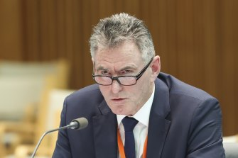NAB chief Ross McEwan has admitted the bank is trawling through millions of customer records to plug holes in its anti-money laundering regime.