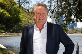 Andrew Forrest has said his initial bid for salmon farmer Huon was low for a reason.