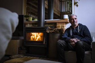 Danny Gelb plans to get rid of his home's wood heater.
