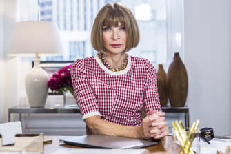 Anna Wintour, who took over Vogue in 1988, features in André Leon Talley's new tell-all book, 'The Chiffon Trenches.'