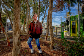 'I was very lucky, I had a good mum': Alex Phillips in Brunswick.
