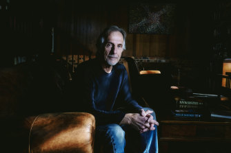 Screenwriter Jan Sardi at his home in Eltham.