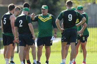 Mal Meninga's pay packet as Kangaroos coach could be slashed.