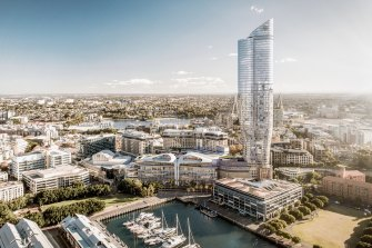 The government has not ruled out a new hotel and apartment tower in Pyrmont, after The Star's proposal was knocked back.