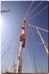 Jesse Martin solo yachtsman.