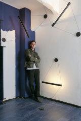 Lighting and furniture designer Zachary Hanna.