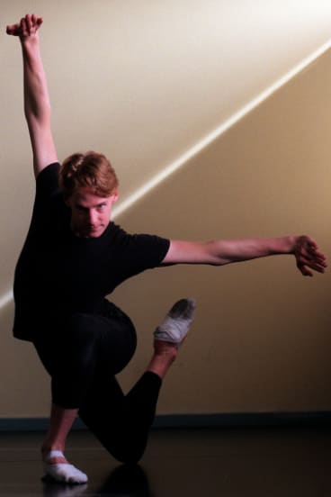 Former Canberran Paul Knobloch, a dancer and choreographer, is ballet master on the tour.