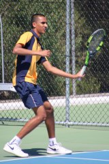 Narayan Judge says he will be undergoing full-time training for tennis now that he's done with Year 12.