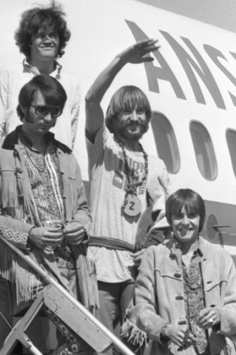 The Monkees in Melbourne during their 1968 tour.