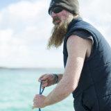 Former commercial fisherman and founder of Shark Ark conservation group, Leon Deschamps.