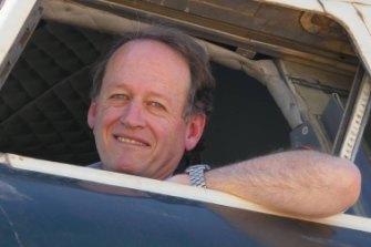 Qantas pilot Douglas Haywood.