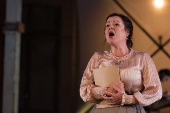 Always reliable: Caroline Vercoe gave an emotional performance.