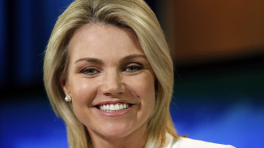 State Department spokeswoman Heather Nauert.
