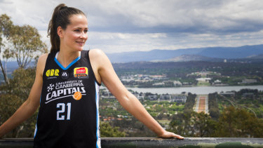 Keely Froling is right at home in Canberra.