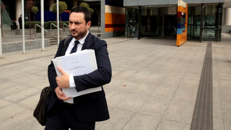 Chief Executive Officer of the Financial Planning Association, Dante De Gori outside the royal commission